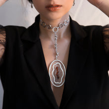 Load image into Gallery viewer, Statement Stream Necklace