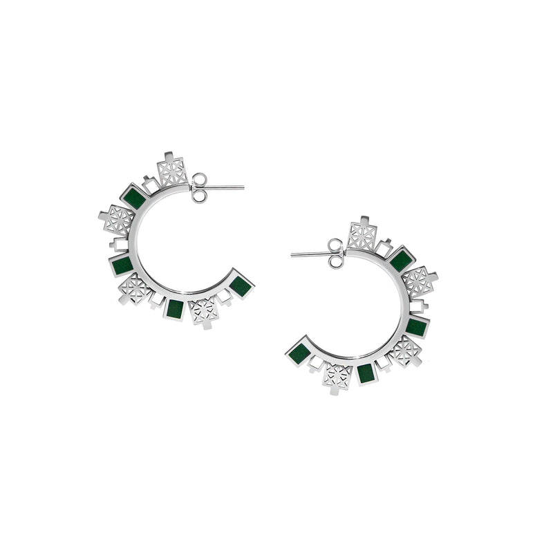 Double-sided Highway Earrings