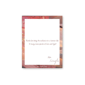 Written Message Card