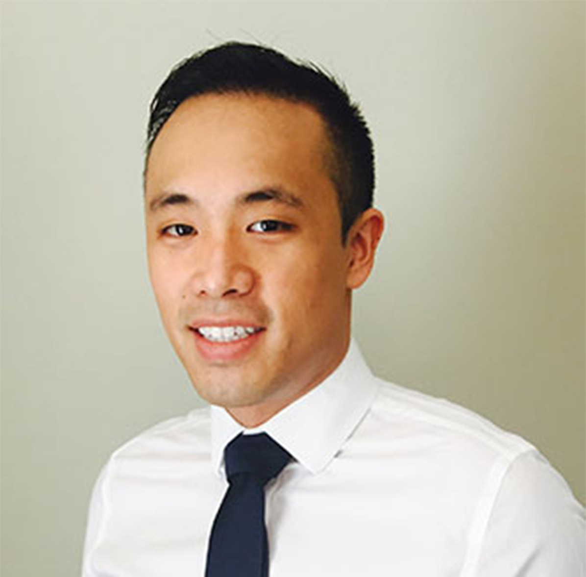 Portrait of Brian Trieu, a Calgary based optometrist