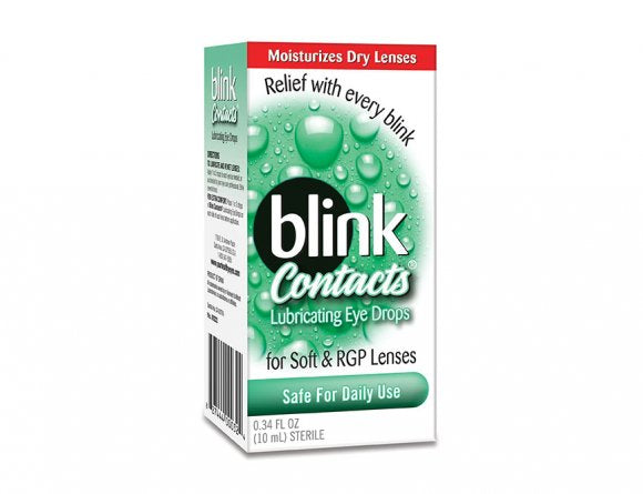 Blink Contacts Lubricating Drops 10ml