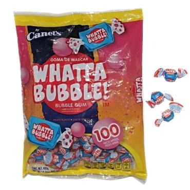 WHATTA BUBBLE! 100 PZS CANELS - Super Dulcería Salas