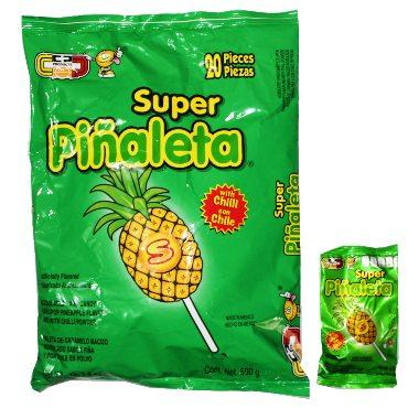 SUPER PIÑALETA 20 PZS CANDY POP - Super Dulcería Salas