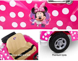 Disney Minnie Mouse Polka Dot Car Kids Electric Ride On