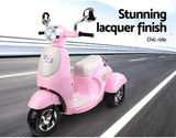 Vino Scooter Inspired Kids Electric Ride On - Pink