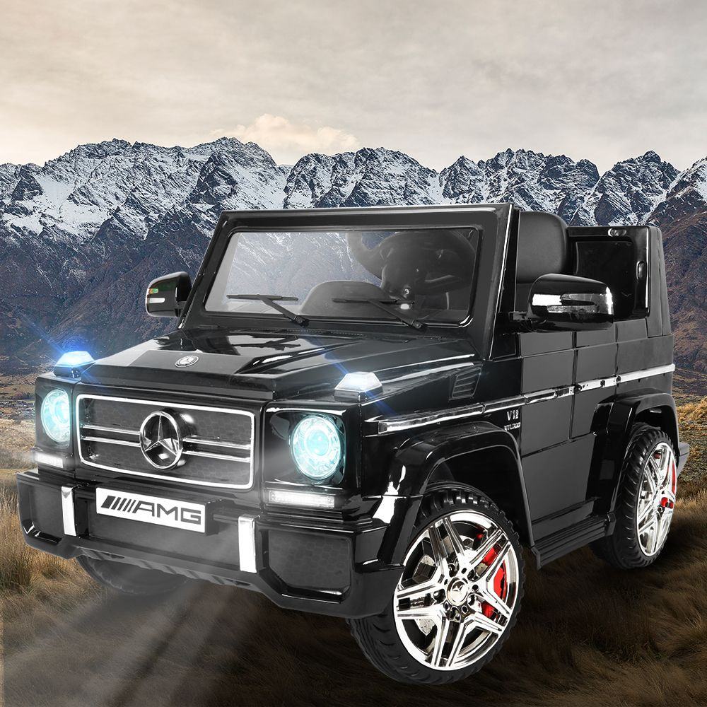 Mercedes Benz G65 AMG SUV Licensed Kids Electric Ride On - Black