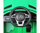 Kids Electric Ride On Mercedes Benz AMG GT R 12V Car - Green