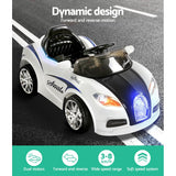 Bugatti Inspired Kids Electric Ride On - Black & Orange, Black & White Or Blue & White