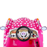 Kids Electric Ride On Disney Minnie Mouse Polka Dot Car