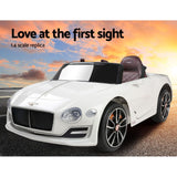Kids Electric Bentley Style XP12 Ride On Car - White