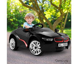 Kids Electric Ride On BMW i8 Inspired Sports Car - Black