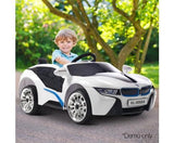 BMW i8 Inspired Sports Car Kids Electric Ride On - Black Or White