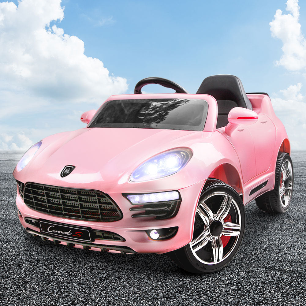 Porsche Macan Inspired Kids Electric Ride On - Pink Or Black