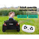Maserati Car Inspired Kids Electric Ride On - White, Pink Or Black