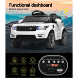 Range Rover Coupe Inspired Kids Electric Ride On - White, Black Or Pink