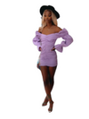 Purple Rain Mini Dress