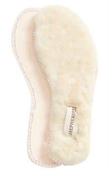 Moheda Sheepskin Soles in Natural White