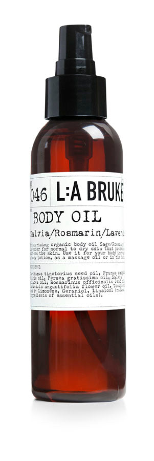 L:A Bruket Body Oil - Sage, Rosemary and Lavender