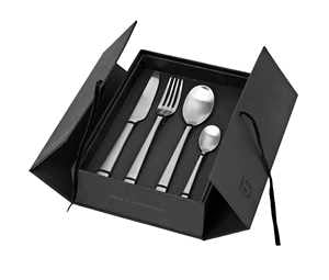 Cutlery Hune Stainless Steel Brushed Satin - 14479048