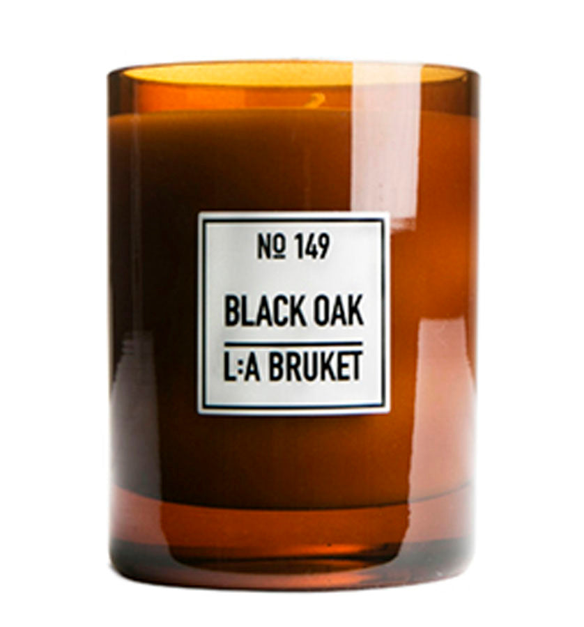 L:A Bruket Black Oak Scented Candle