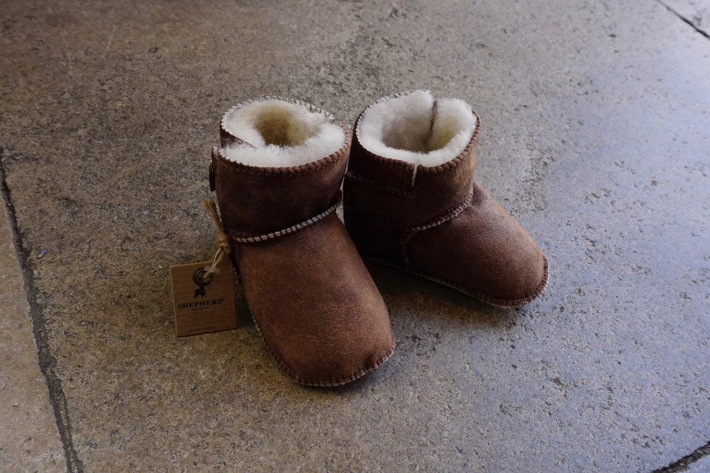 Boras Babies Sheepskin Slipper