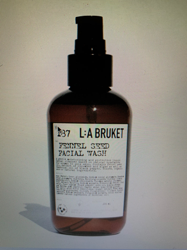 L:A Bruket Fennel Seed Facial Wash