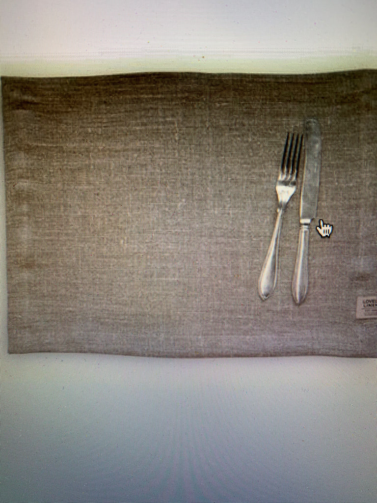 Lovely Linen Rustic Placemat