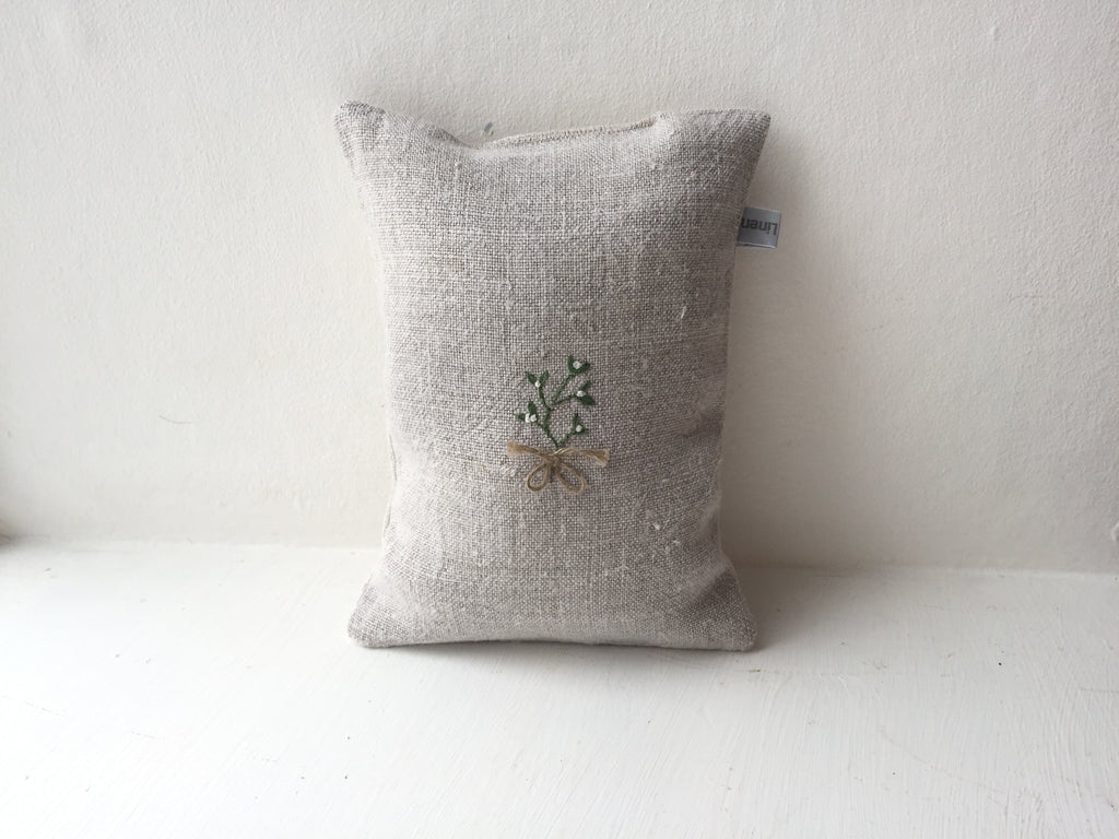Christmas Mistletoe Lavender Bag