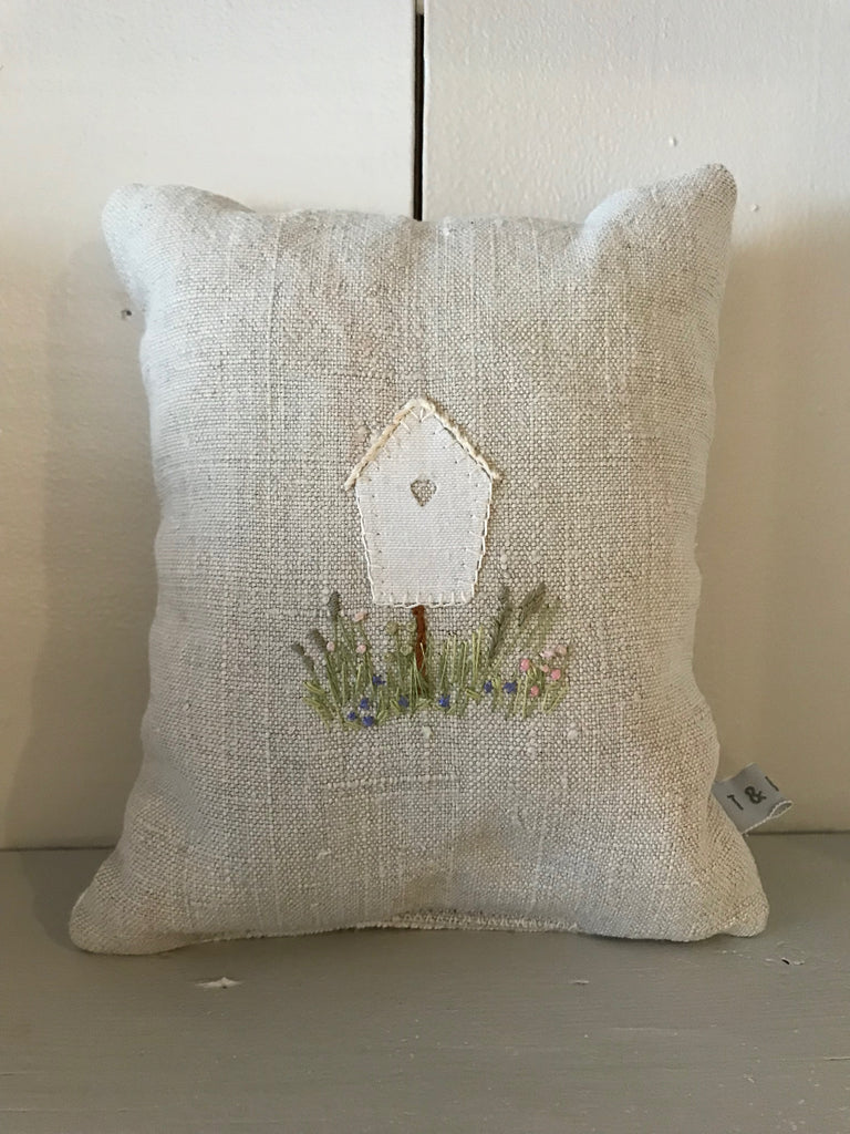 Bird Heart Box Lavender Bag