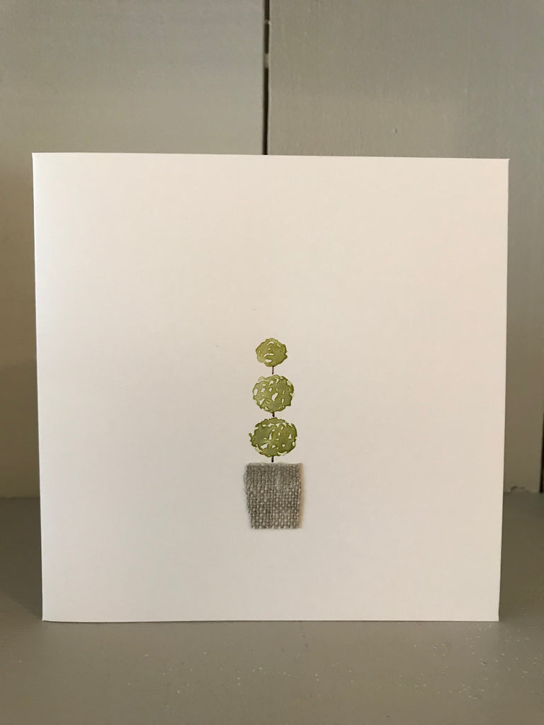 Topiary Card