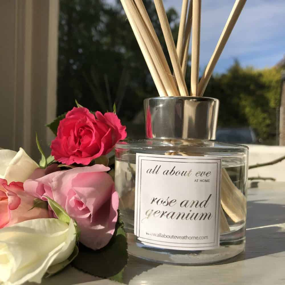 Rose and Geranium Scent Diffuser