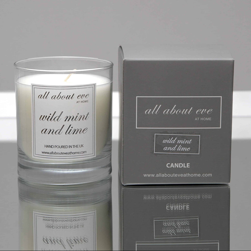 Wild Mint and Lime Scented Candle