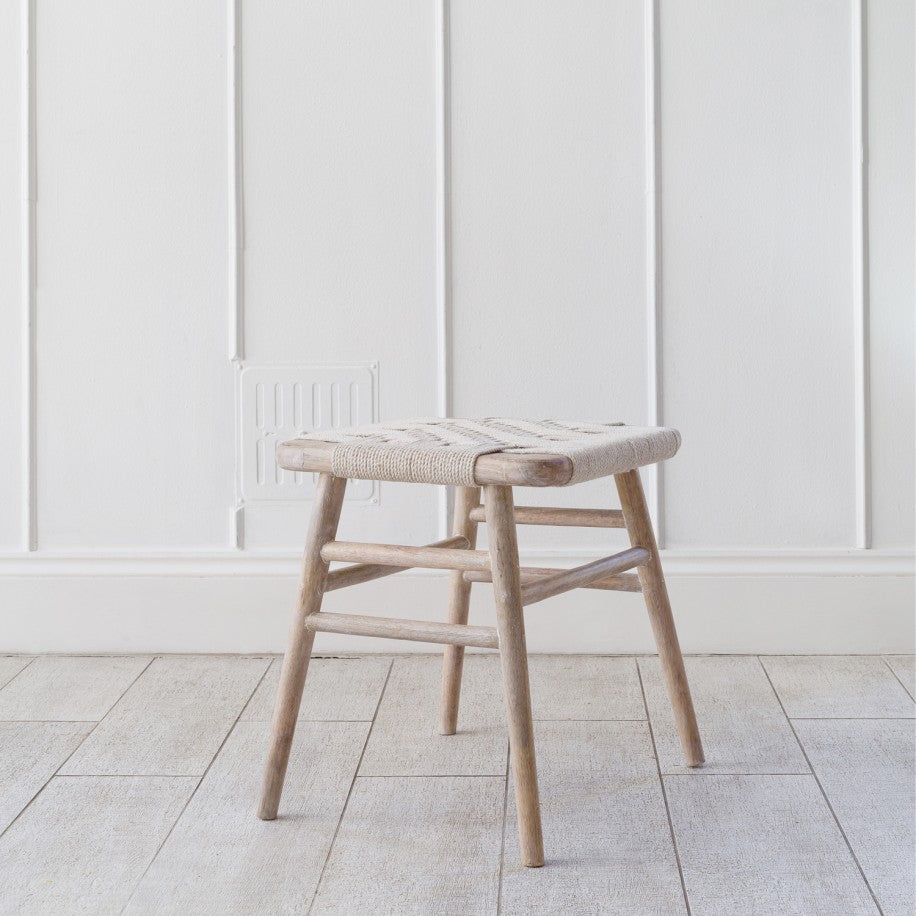 Kibo Wooden Small Stool