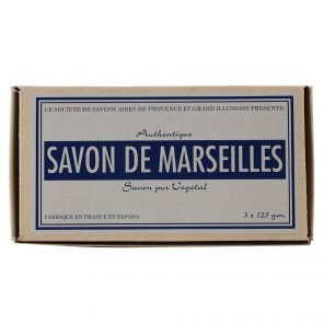 Linen Wrapped Marseille Soap