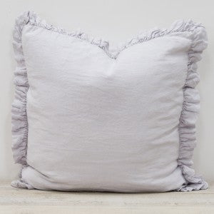 Oli Linen Ruffle Cushion