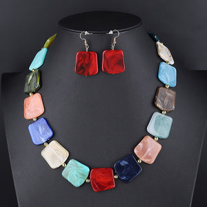Pendant Beads Jewelry Set For Women