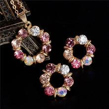 Load image into Gallery viewer, Golden Plated Jewelry Sets For Women
