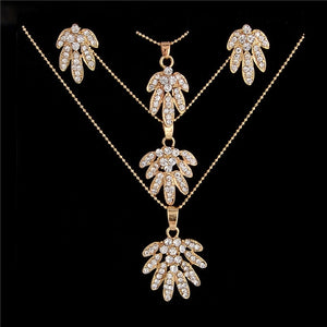 Golden Plated Jewelry Sets For Women
