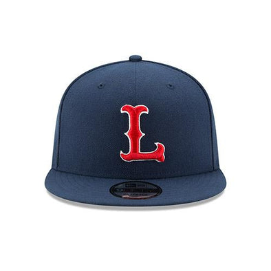 Lowell Spinners New Era 978 Navy 9Fifty Snapback
