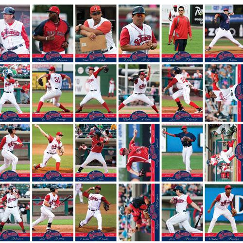 Lowell Spinners 2013 Spinners Team Set