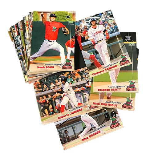Lowell Spinners 2019 Team Set