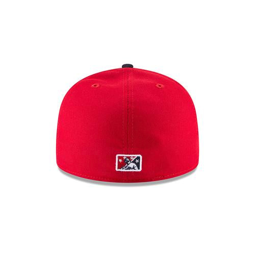Lowell Spinners New Era 2018 Red Road Cap