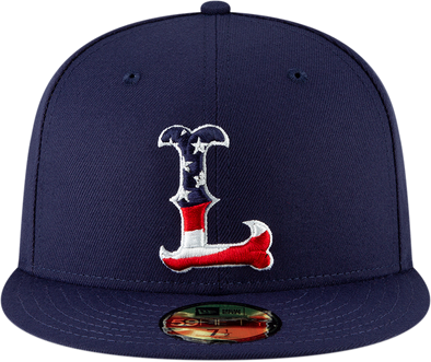 Lowell Spinners New Era Youth American Flag 59Fifty Cap