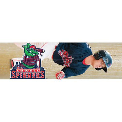 Lowell Spinners Player Mini Bats