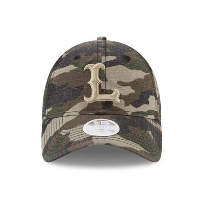 Lowell Spinners New Era Women's Preferred Pick Camo 9Twenty Cap