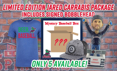 LIMITED EDITION Signed Jared Carrabis Bobblehead Package