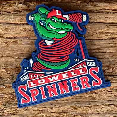 Lowell Spinners Gator Magnet