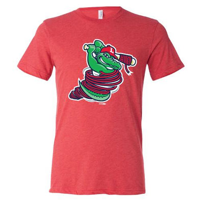 Lowell Spinners Gator Red Triblend Tee