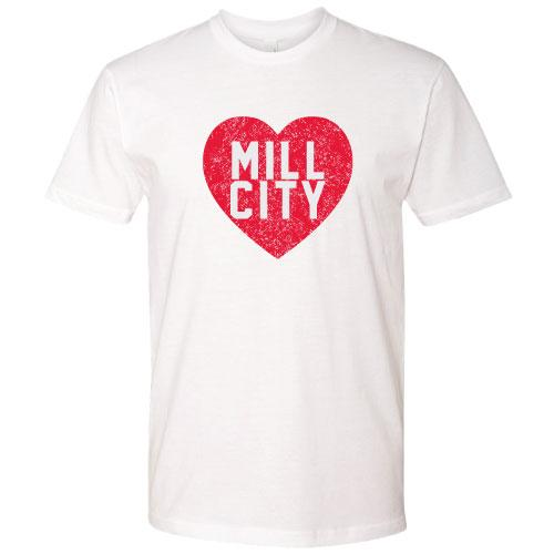 Lowell Spinners Mill City Heart Tee