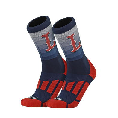 Lowell Spinners Logo Socks